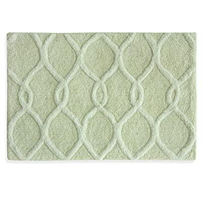 "Bacova Guild Zen Bamboo, 20"" x 30"" Bath Rug - Soft Cotton/polyester rug that will add that Zen-like feeling to any room Machine washable Matching Zen bamboo bath Accessories also available - bathroom-linens, bathroom, bath-mats - 51MzV2hmcPL. SS400  -"