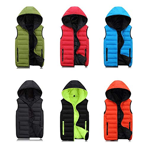 Coats Sleeveless Winter Fdbf Mens L Hooded For Vest Warm Men Women Fashion Jacket ZSUqf