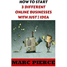 How To Start 3 Different Online Businesses With Just 1 Idea: Sell Products, Start a Blog & Create Passive Income (Making Money Online, Entrepreneurship & Small Business)