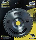 51 2 circular saw blade - Floor King 55036 comparable to Crain 556, 5-1/2 Dia x 36T x 22.22mm Bore for 555 Crain Undercut Saw.