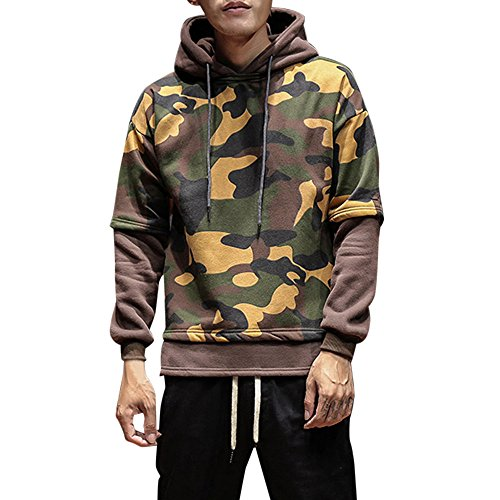 Maverick Couples Costume (Men's Hoodies, Realdo Camouflage Warm Coat Outwear)