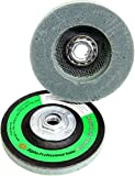 "Alpha PVA VP Style 4-1/2"" Polishing Pad with 5/8""-11 Hub - Fine 400 Grit"