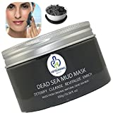 NOT JUST ANOTHER Dead Sea Mud Mask + Essential Oils-10.58oz-100% Natural Facial Body Skin Treatment Detox Cleanse Exfoliate Face Reduce Acne Pores Wrinkles Scars Blackhead Remover Extractor