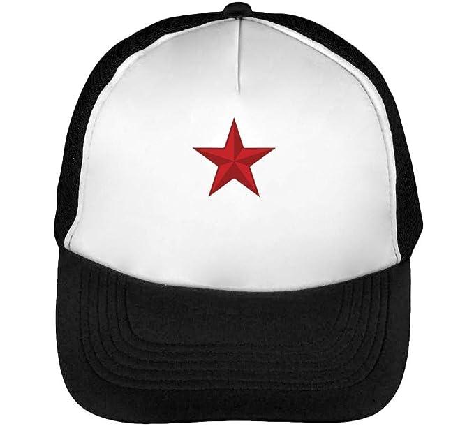 Red Gorras Hombre Snapback Beisbol Negro Blanco: Amazon.es: Ropa y ...