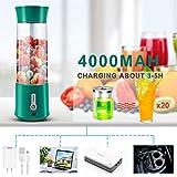Portable Blender,Blender for Shakes and