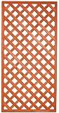 HOMEGARDEN Pannello grigliato rettangolare in legno trattato 4 pz 90x180 cm