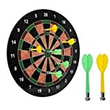 "16"" Official Size Magnetic Dartboard with 6 Darts included"
