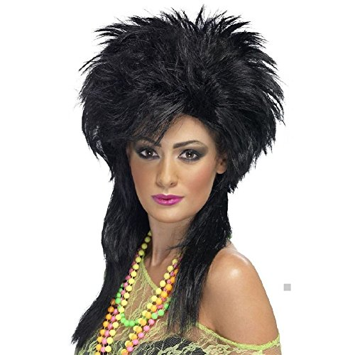 80s Female Pop Stars Costumes (80s Wig Adult Womens for Punk Pop Star Costume Halloween Fancy Dress)