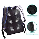 School Bag,Classic Leather Backpack College Bookbag Casual Daypack Fits 15 Inch Laptop