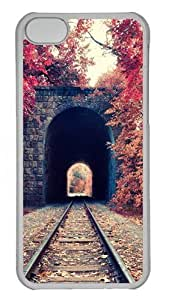 Armenia Yerevan Railway Park Polycarbonate Hard Case Cover for iPhone 5C Transparent