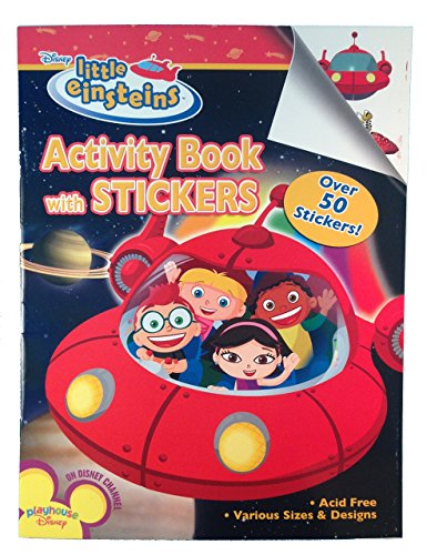 Purchase Little Einsteins Activity Book w/ Stickers (1ct) by Bendon Publishing