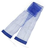 1.75M Length White Brim Nylon Ping Pong Table Tennis Net Blue