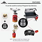 CAMPINGMOON Camping Grill Propane Gas Stove