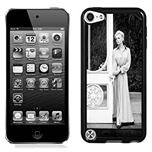 New Personalized Custom Designed For iPod Touch 5th Phone Case For Beautiful Women Black and White Photo Phone Case Cover