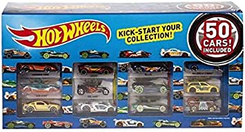 Hot Wheels 50 Car Pack by Mattel: Amazon.es: Juguetes y juegos