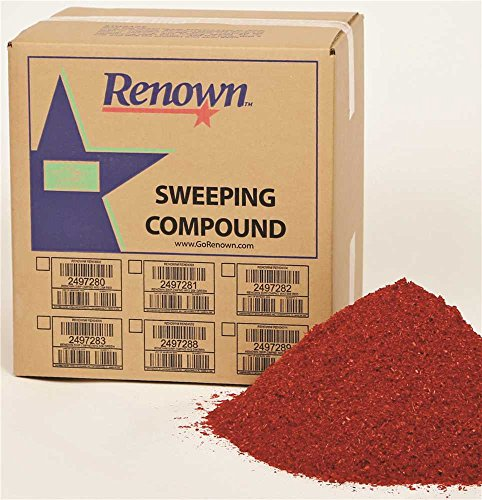 Renown REN04012 Sweeping Compound Oil Base, No Grit, 50 lb. Box, - Compound Base Oil Grit Sweeping