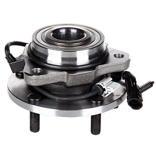 Wheel Hub Bearing Assembly ECCPP Wheel Hub Front 5 Lugs w/ABS for GMC Jimmy Chevrolet Blazer 1998-2005 Compatible with 513200