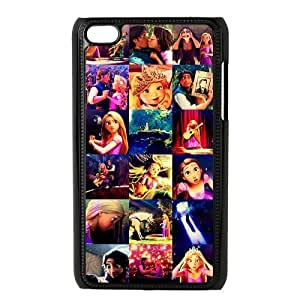 ROBIN YAM- Tangled Princess Rapunzel iPod 4 Case, Hard Plastic Protector Snap On Cover Case for iPod Touch 4 4G 4th Generation -FRY359