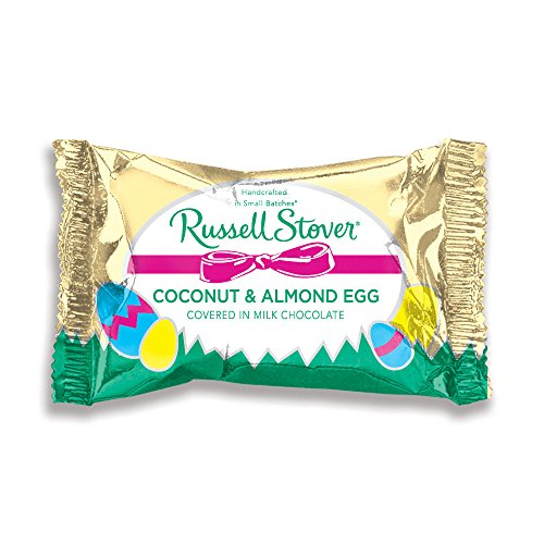 Russell Stover Coconut & Almond Egg, 1 oz.