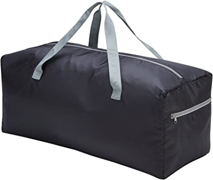 42-inch Polyester Lightweight Foldable Solid Dark Red Xtra Large Duffel Bag