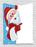 Christmas Santa Claus Blue Sky Snow Holiday Digital - Best Reviews Guide