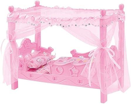 pegtopone Zufällige Mini Bett Für Barbie Puppen Puppenhaus Schlafzimmer  Möbel Spielzeug, Puppenbett Kinder Mädchen Spielhaus Spielzeugbett  Prinzessin ...