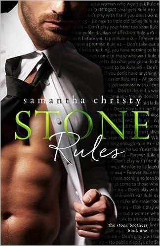stone rules a stone brothers novel samantha christy 9781539037132 amazon com books