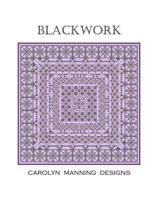 Blackwork Cross Stitch Chart