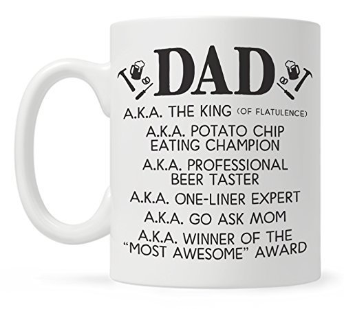 Amazon Funny Dad Coffee Mug Fathers Day Gift From Son Or