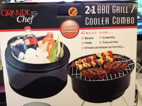 Grande Chef Cooler/BBQ Grill Combo