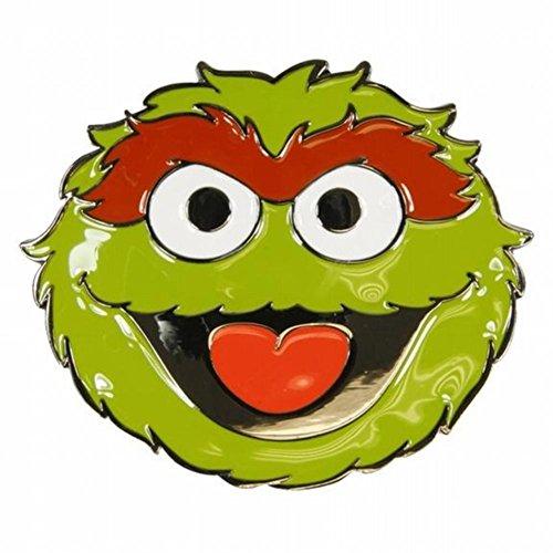 (Sesame Street - Oscar The Grouch Belt Buckle)