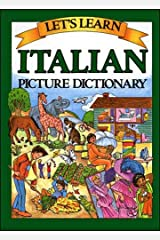 Italian Picture Dictionary (Let's Learn...Picture Dictionary) (English and Italian Edition) Hardcover
