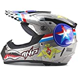 DUEBEL Tiburón Casco de Motocross Motorrad Yelmo for BMX / Motorcross / Cross-country,