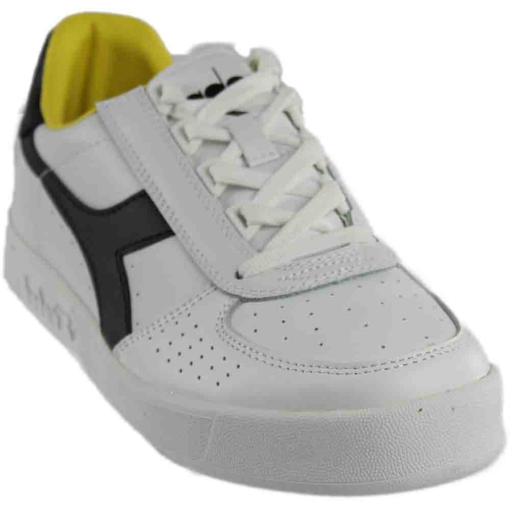 [ディアドラ] DIADORA B.ELITE 3 B072M6XWPJ 10.5 Women / 9 Men M US White/Black/Cyber Yellow