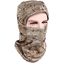 Fishing Balaclava - Face Mask Hiking Headwear Skull Cap/Helmet Liner/Tactical Beanie Sun Mask Protection for CS Hunting Cycling Motorcycling Running -Dry Quickly Breathable Wicking Great for Men&Women