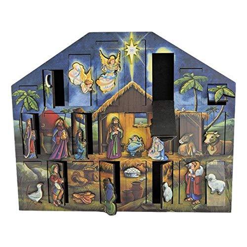Byers' Choice Nativity Musical Advent Calendar #MC05 by Byers' Choice (Image #1)
