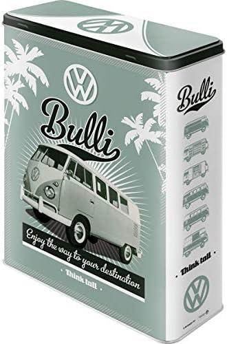 Nostalgic-Art Caja metálica de Estilo Retro - VW Retro Bulli ...
