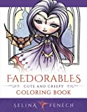 faedorables cute and creepy coloring book fantasy coloring by selina volume 15