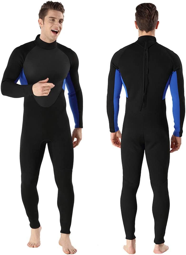 Niwi Full Body Wetsuits, Premium Neoprene 3mm Men s Diving Suit for Underwater Scuba