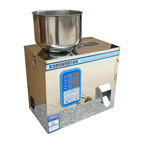 (Hanchen Instrument Tea Packing Machine Tablet Weighing Machine Granule Packing Machine Powder Packing Machine 1-25g)