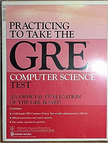 Gre Computer Science Book