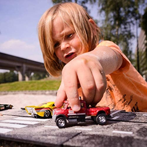 Waytoplay's King of the road. The flexible toyroad, 40 pieces, 648 cm. Made in Europe
