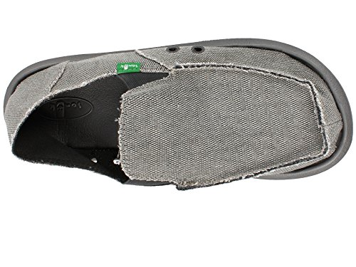 Sanuk Mens Vagabond Slip On .grey.