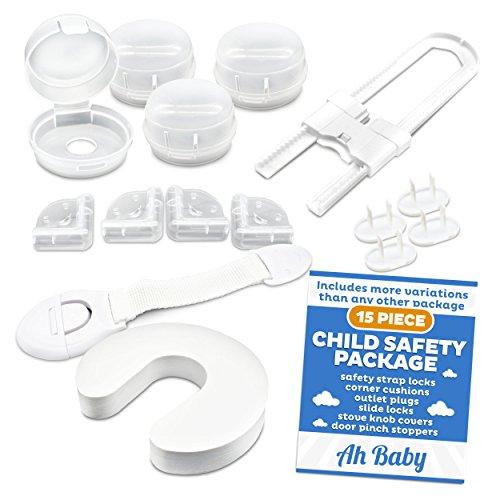 Ah Baby Child Safety Locks Kit Keeps Kids Safe From