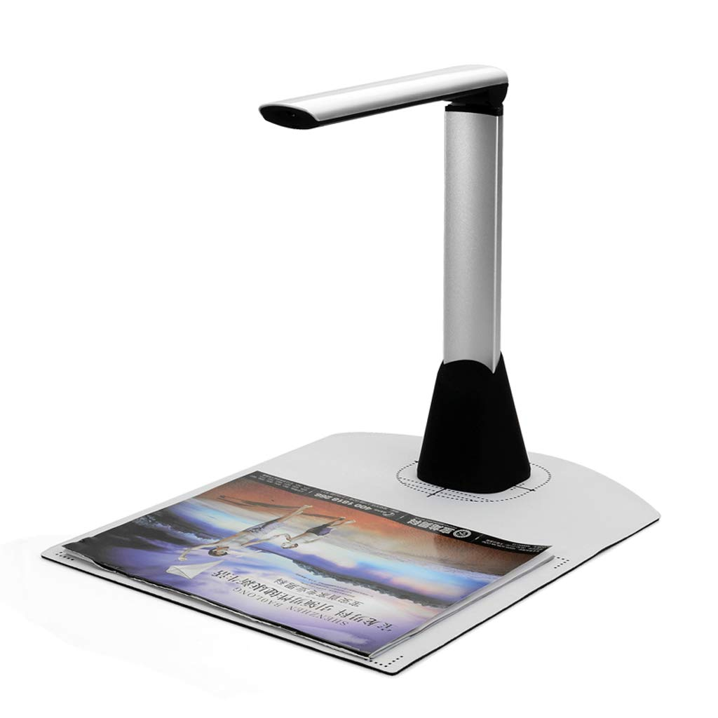 Baoblaze Portable Document Book Image HD Scanner LED with OCR Function for Mac PC Apple Android FZ500