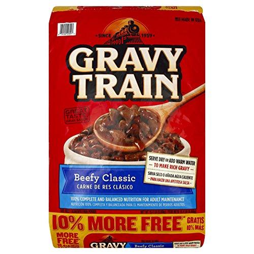 Gravy Train Beef Classic Bonus Dry Dog Food, 15.4 Lb (Gravy Train Beef Flavor)