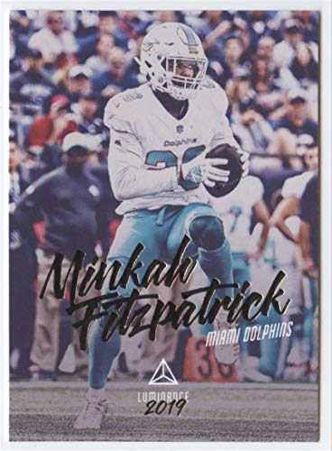 2019 Luminance Football #30 Kenyan Drake Miami Dolphins Official NFL Trading Card From Panini America