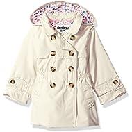 OshKosh B'Gosh Girls' Hooded Trench Coat
