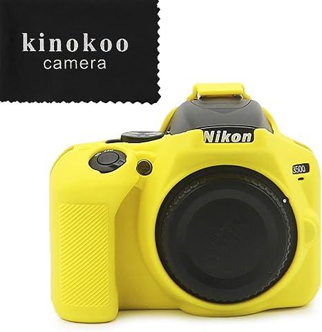 kinokoo - Carcasa de Silicona para Nikon D3500: Amazon.es: Electrónica