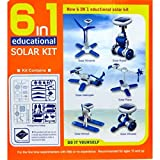 Casotec Educational 6 in 1 Solar DIY Hybrid Energy Kit Series 2